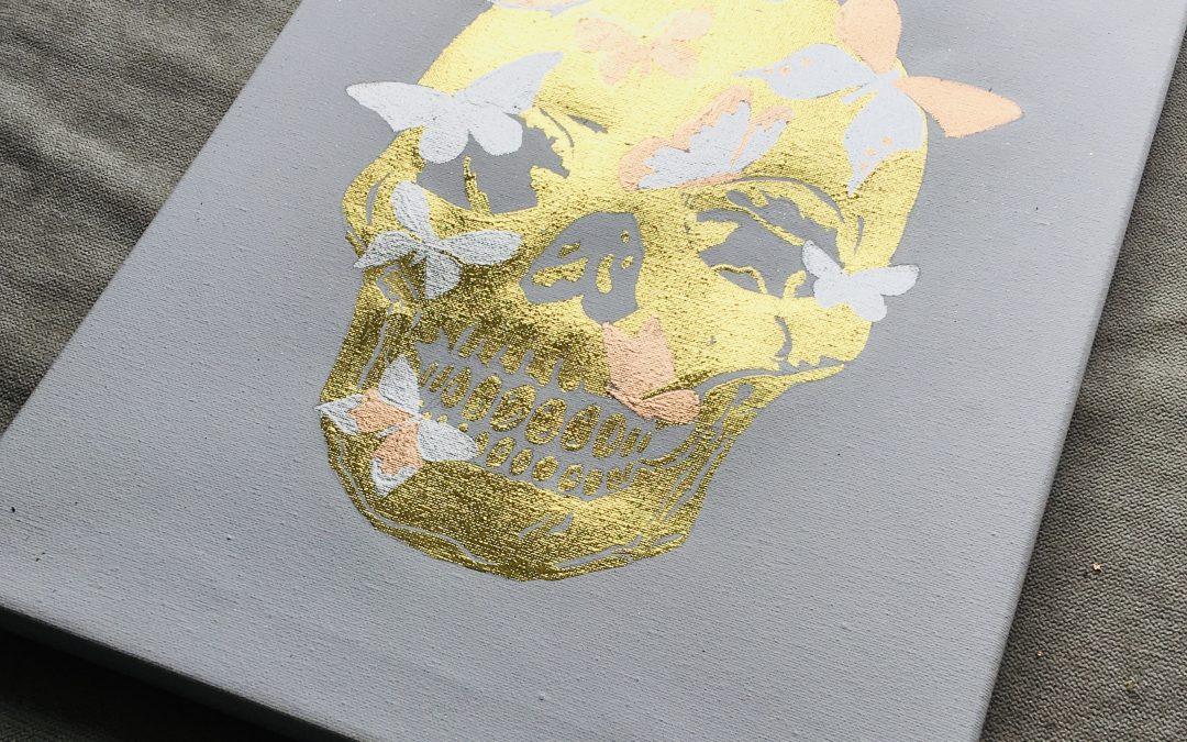 Butterfly Skull  Paint | Create | Online £12 – 2021/10/22