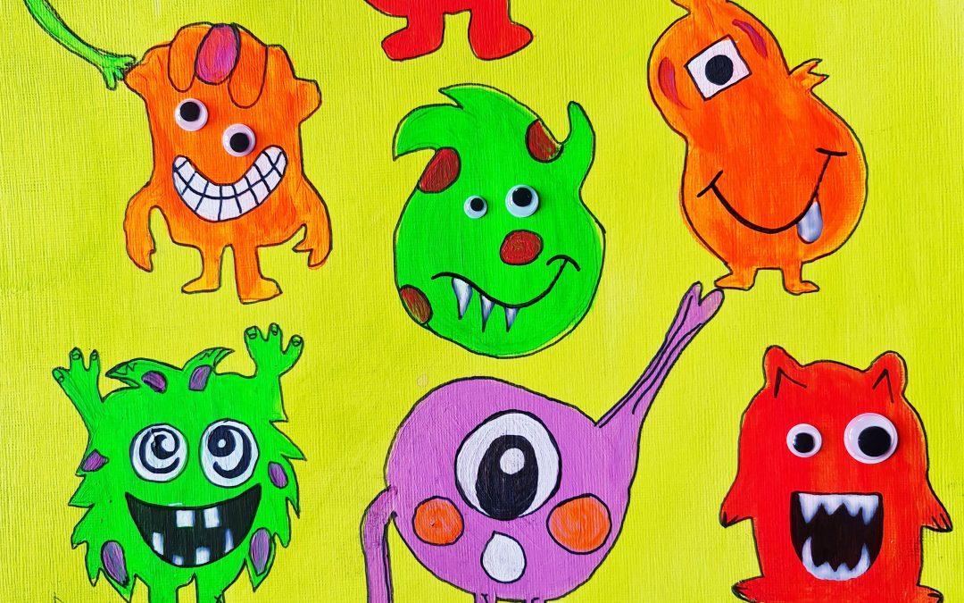Monsters Kids | Online | Workshop £11 – 2021/10/28